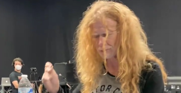 Megadeth Rehearse For Upcoming Tour With Lamb of God