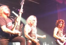David Ellefson live with Steel Panther
