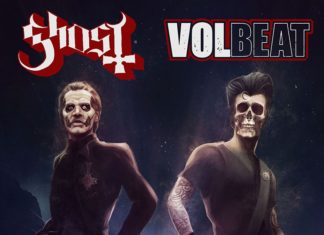 Ghost Volbeat 2022 US Tour