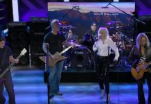 Metallica Performs With Miley Cyrus